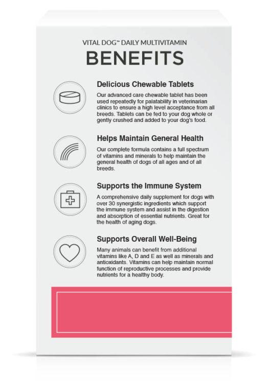 Vital Dog Benefits