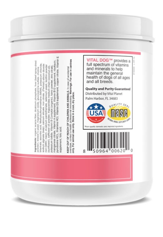 Vital Dog Daily Multivitamin Powder